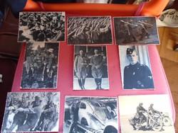 40 darabból álló II. vhs. birodalmi fotó gyűjtemény