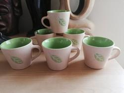 Kávés csészék 6 db
