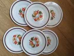 Arcopal tejüveg tányérok 6 db