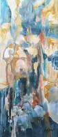 """""""Olvadás"""" Modern Eredeti absztrakt festmény,közvetlen a művésztől! Szignózott kortárs alkotás"""