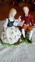 Barokk porcelán pár