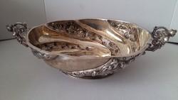 Londoni antik ezüst kínálótál 1891-1892.