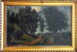 Kováts Károly eredeti festménye (leárazva)