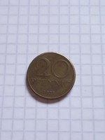 Szép 20 Pfennig 1971  !