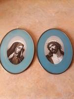 Szűz Mária és Jézus kép párban