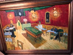Vincent van gogh-:the night cafe után