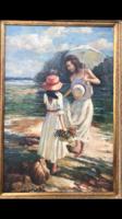 Olaj festmény , gyönyörű színvilággal