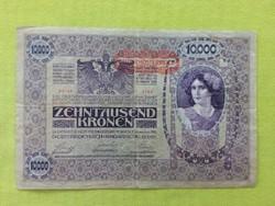 10000 Korona 1918 Osztrák felülbélyegzéssel (id2374)