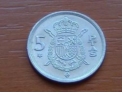 SPANYOL 5 PESETAS 1975 (78) #