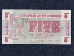 UNC Nagy-Britannia brit fegyveres erők 5 new pence (id6575)