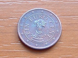 AUSZTRIA OSZTRÁK 1 EURO CENT 2009