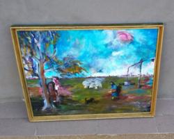 Sarkady Dezső kortárs festmény