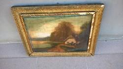 Nagyon régi Iványi festmény