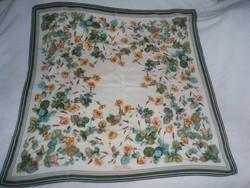 Vintage FIORIO silk selyemkendő