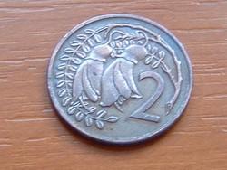 ÚJ-ZÉLAND NEW ZEALAND 2 CENT 1973