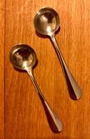 Ezüst fűszeres kiskanál, párban