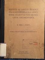 /1913/ Jelentés Az Erdélyi Medence Földgázelőfordulásai Körül Eddig Végz Kut Munk Eredm...