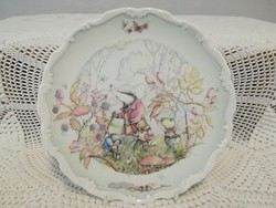 "Royal Doulton  "" The wind in the willows rambling in the wild wood """