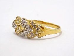Köves arany gyűrű (ZAL-AU70862)