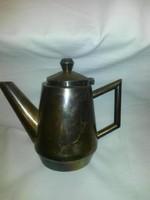 Ezüst szállodai kávé és tejkiöntő szett
