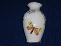 Antik herendi viktória mintás porcelán váza