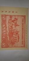 Gyűjtők figyelem! Tag in der Briefmarken 1950 levelezőlap bélyeggel