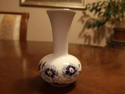 Zsolnay búzavirágos kicsi váza hibátlan