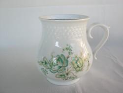 Hollóházi porcelán hasas bögre