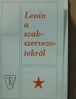 Lenin a szakszervezetekről (minikönyv)