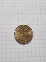 Unc  20 Centimes Franciaország 1996 !
