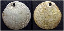 Lipót ezüst 3 krajcár 1696 CM/id 1596/