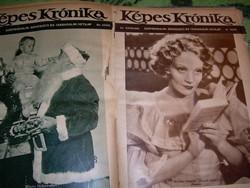 Képes Krónika 1933. II. félév Tabán, Teleki, film, cserkészet
