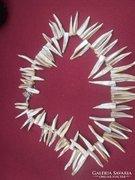 Dél-Afrikai ABALONE  héjából készült gyönyörű nyaklánc