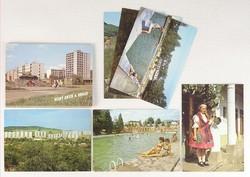 0V478 Szlovákiai képeslapok 6 darab