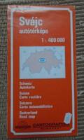 Svájc autótérképe, 1991 (Svájc-térkép)