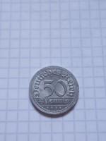 "Szép 50 Pfennig 1921 ""F"" !!"