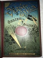 Verne Gyula összes munkái- Anfiter Mester Csodálatos Kalandjai(1928) Franciáról fordította; Huszár I