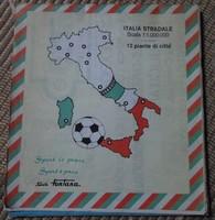 Olaszország autótérképe, 1990 (olasz térkép)
