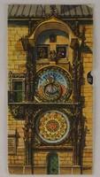 0V494 Prágai Orloj óra mechanikus képeslap