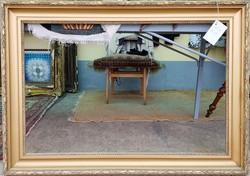 Antik keret 65x100 cm