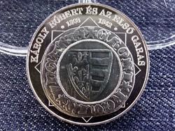 Károly Róbert és az első garas 1808-1842 színezüst (id6622) utánveret
