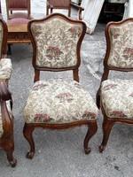 2 db antik barokk szék