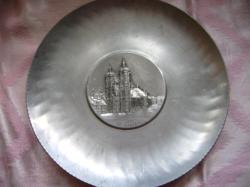 ST.GALLEN alumínium svájci dísztányér