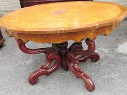 Antik bécsi barokk asztal