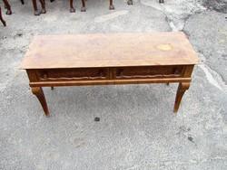 Antik bieder konzol asztal