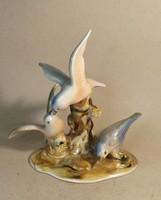 Alba Júlia porcelán madarak gyönyörű