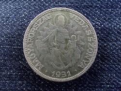 Nagyon ritka Madonnás ezüst 2 Pengő 1931 (id7023)