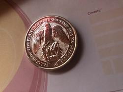 2019 Britt 5 font Falcon ezüst érme 62,2 gramm 0,999