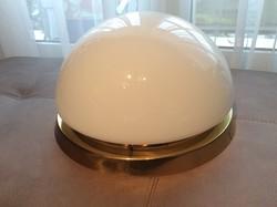 Legnagyobb licit viszi!39 cm-es átmérővel, jelzett bécsi mennyezeti lámpa bauhaus stílusban.