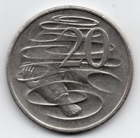 Ausztrália 20 ausztrál cent, 2007
